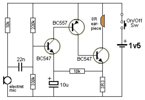 助听器电路图