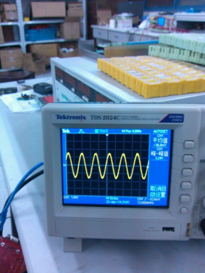 示波器测波