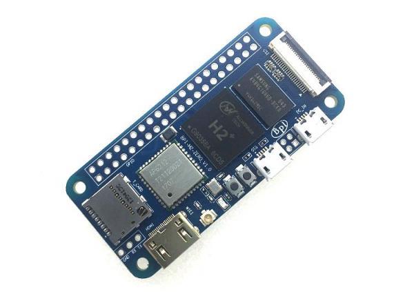 香蕉派 BPI-M2 Zero 四核开源单板计算机 VS raspberry pi Zero W