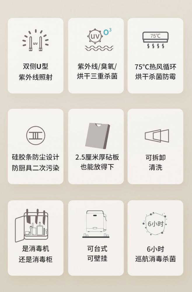 爱家乐(AKIRA)智能刀筷砧板消毒烘干机,开源硬件产品化