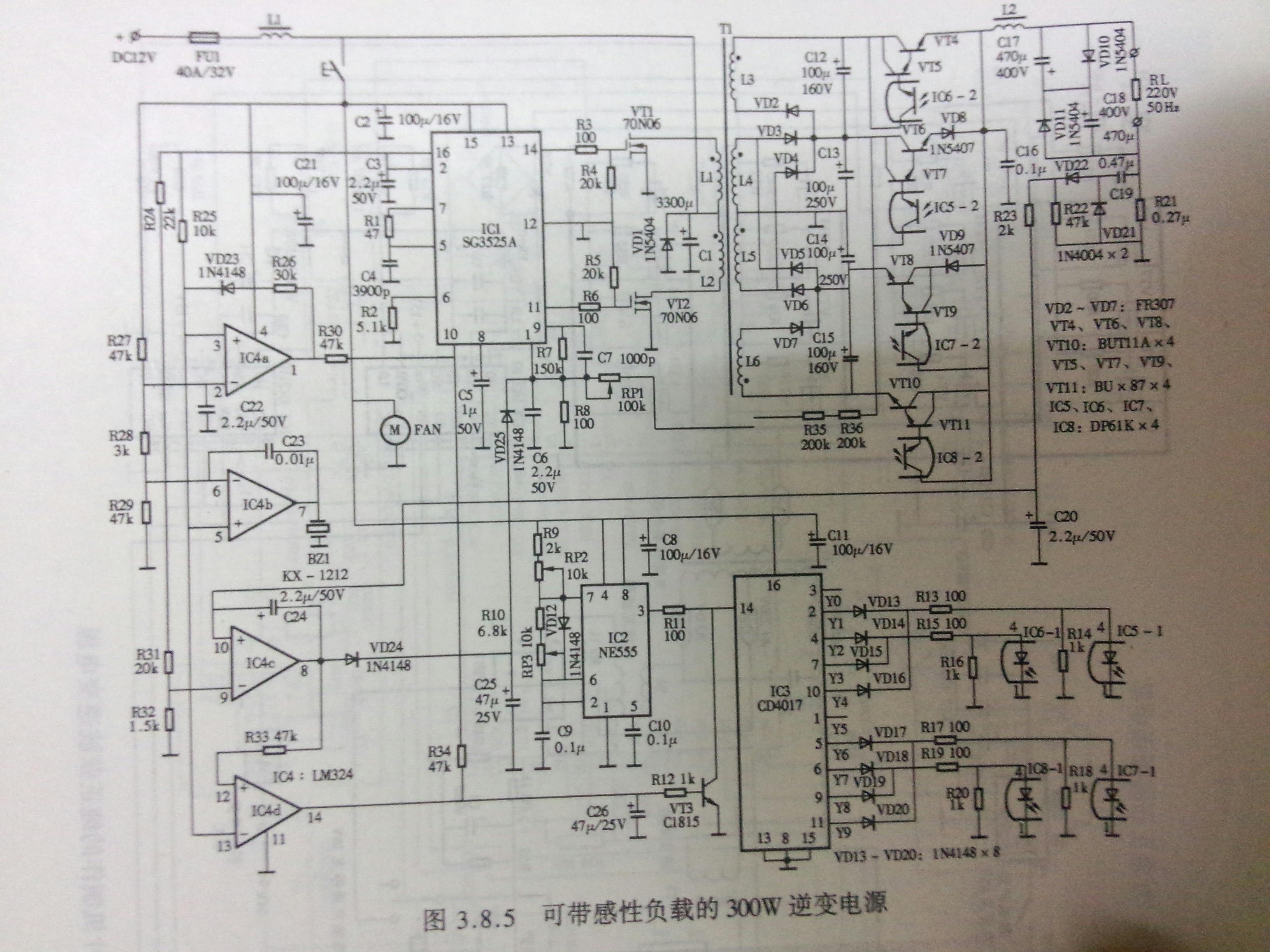 简单易调的工频小功率逆变器 SG3525 POWER INVERTER_手机搜狐网