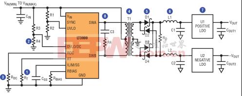 怎样设计一款隔离型、高频、推挽式 DC/DC 转换器