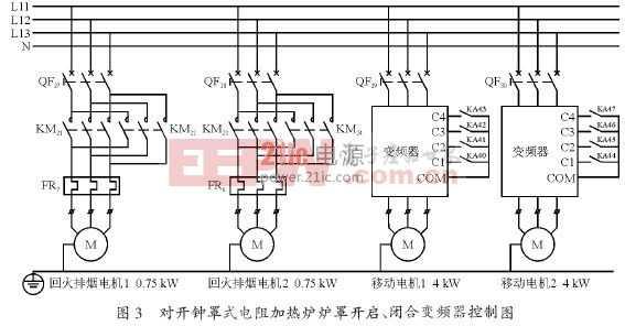 在需要装吊芯棒的位置,由plc 发出指令,液压缸推动9 个排吊钩张开图片