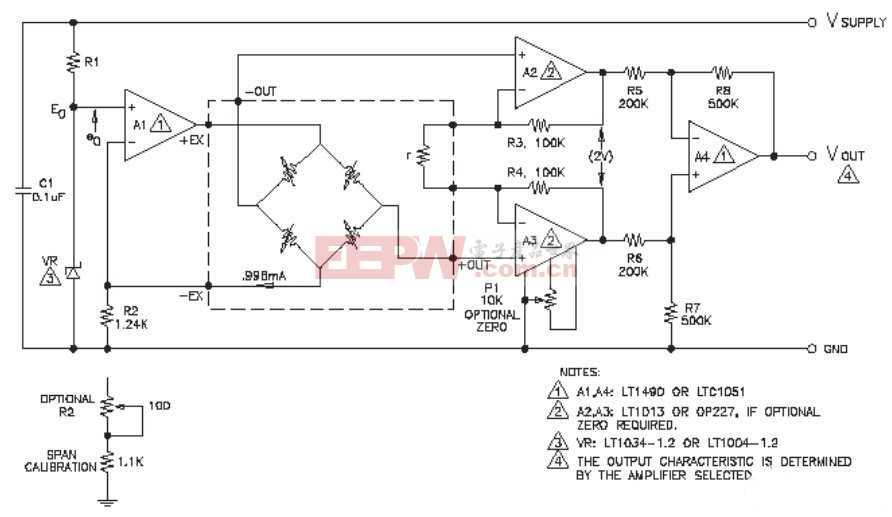 汽车电子的压力传感器电路设计