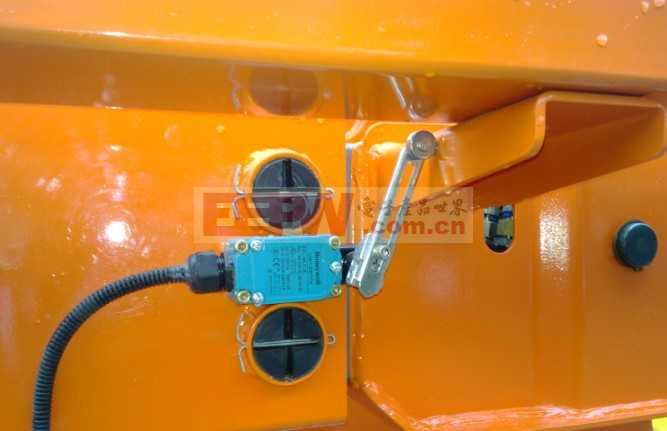 高空作业车中的传感器应用