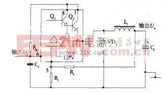 基于升压芯片MC34063的设计