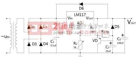 LM117T的直流稳压电源设计与制作图片