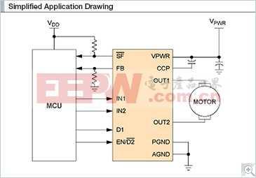 MC34931: H桥,有刷直流电机驱动器,5-28V,5A,11kHz
