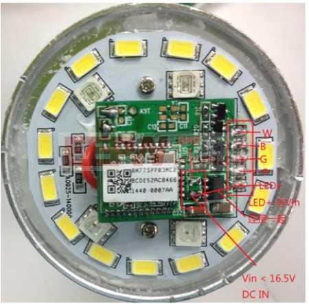 双模蓝牙LED灯驱动方案
