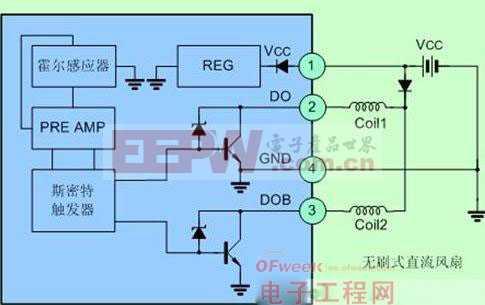 24v无刷直流电机反转接线图