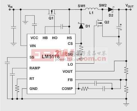 高效非反向降压-升压转换器设计技巧-汽车电子电路