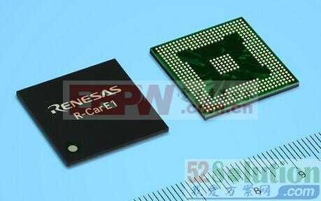 一种汽车电子基于混合信号技术的单芯片设计