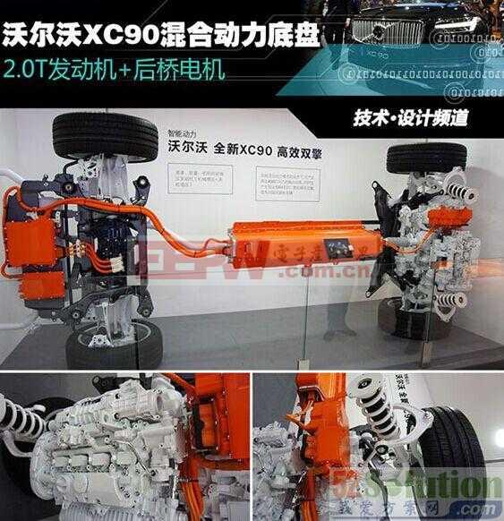 智能汽车——沃尔沃XC90 T8混合动力底盘技术解读方案