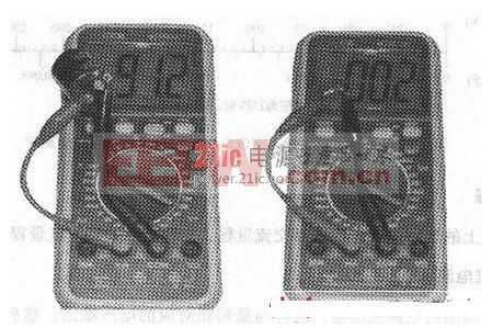 下面介绍的是使用数字万用表电阻档检测电容器的方法