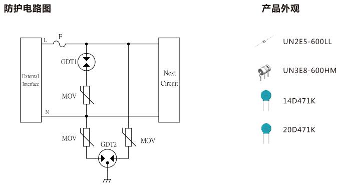 AC220V电源防护方案