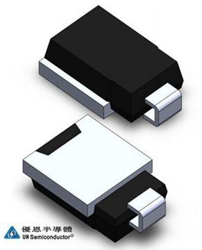 优恩半导体新推出可通过AEC-Q101认证的车规级TVS管SM8ZXXA/CA系列产品