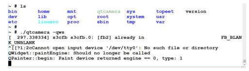 iTOP-4412开发板-QtE4.7-UVC  摄像头使用例程