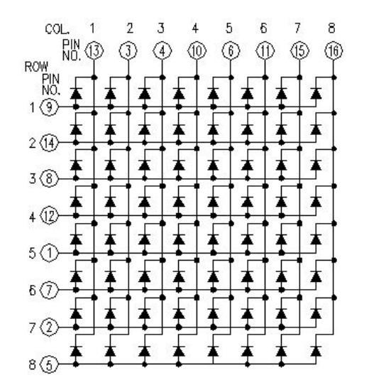 8x8点阵屏针脚图.png