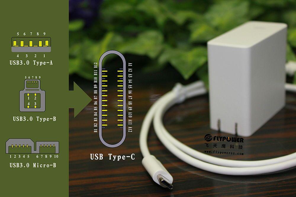 飞天鹰向您介绍灵活、小巧、通用的USB Type-C接口