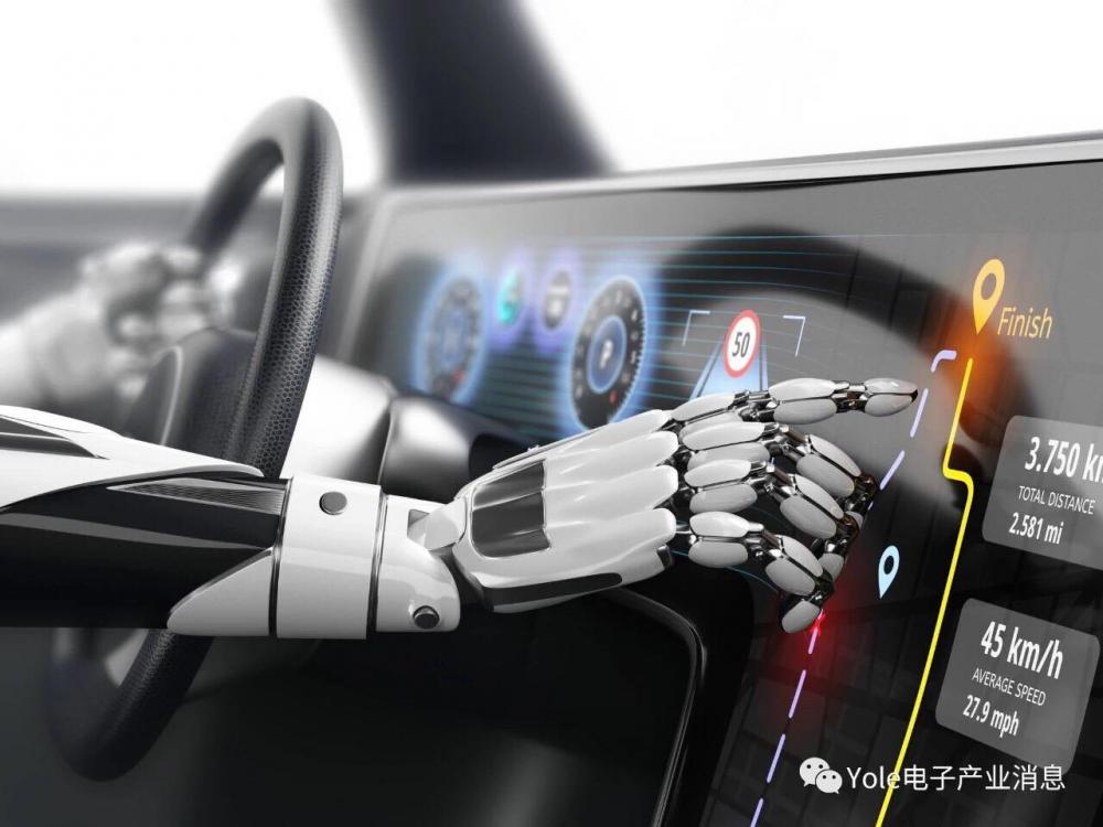 [Yole线上研讨会] 人工智能对汽车产业的影响 
