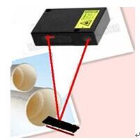 在线测厚仪测量塑料管壁厚的案例