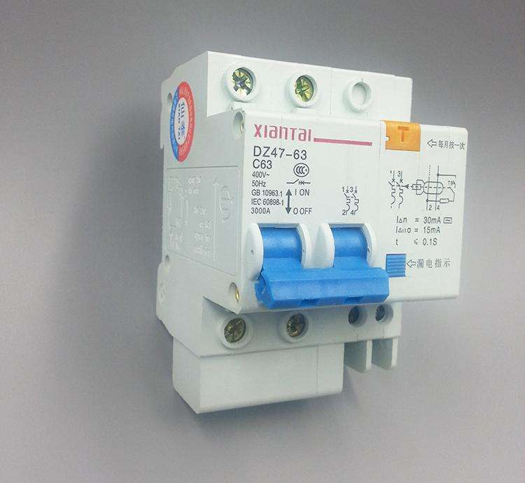 家用漏电断路器的选择及接线方法
