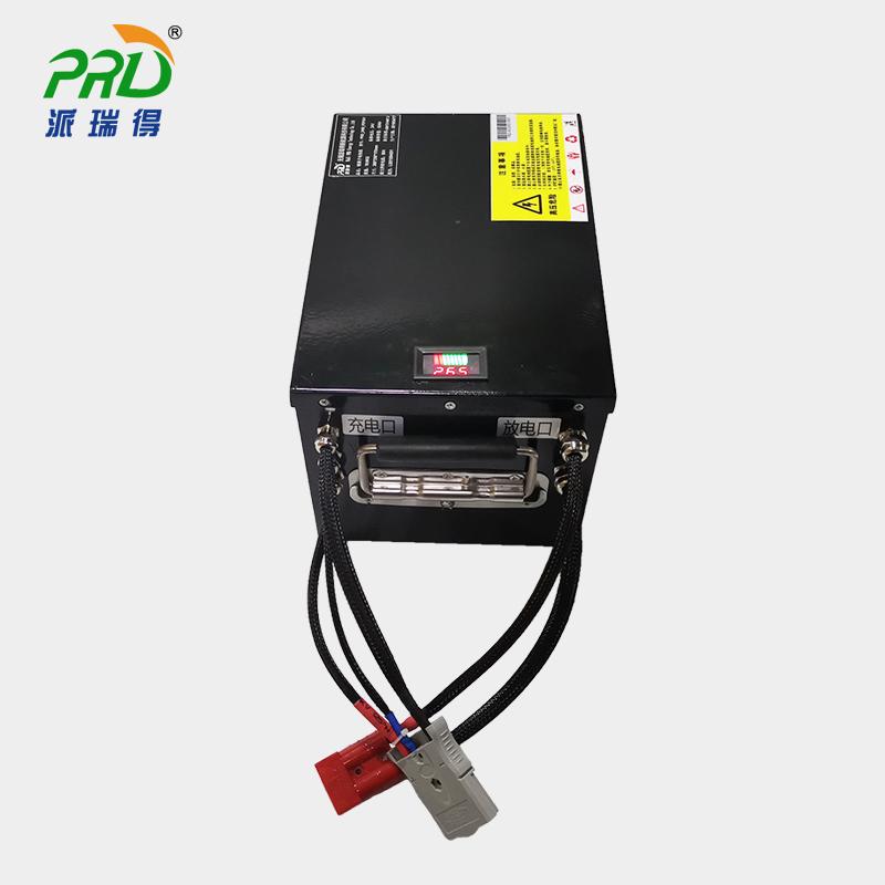 AGV小车锂电池过充放电