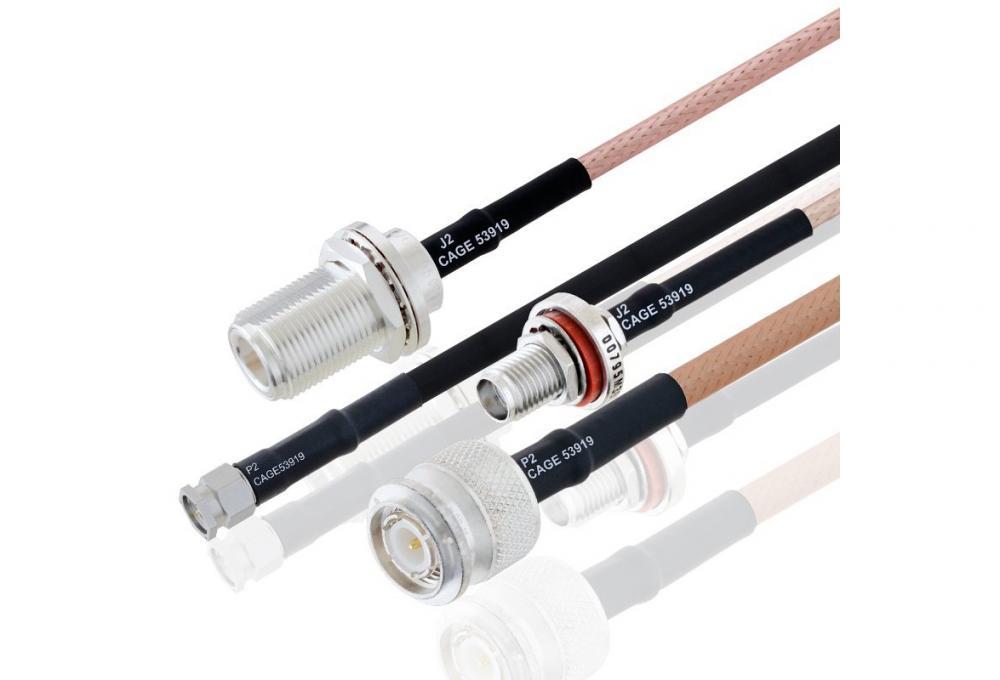 Pasternack新射频电缆组件