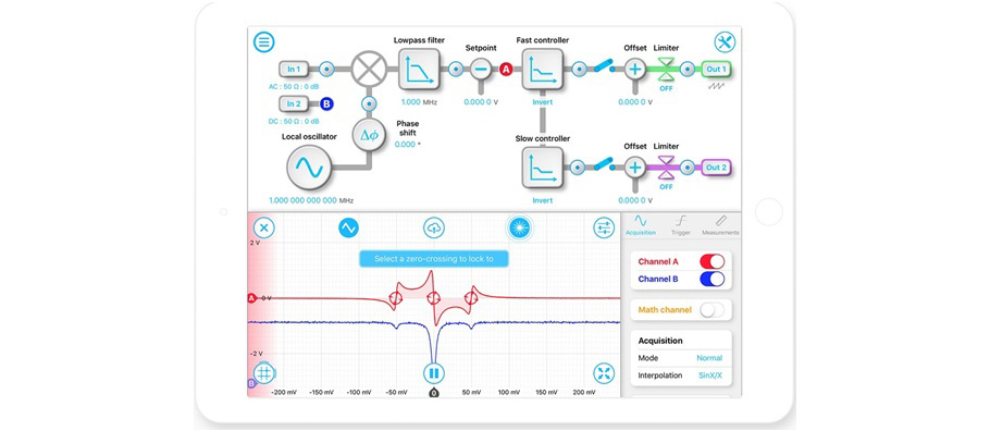 Moku多合一测量仪中激光稳频锁频功能介绍