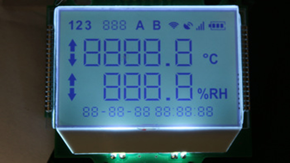 段码液晶屏可以做成亮白的底吗?