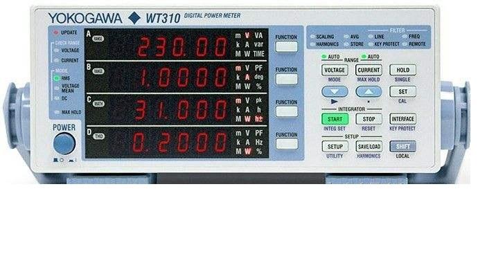 YOKOGAWA/横河WT310功率分析仪