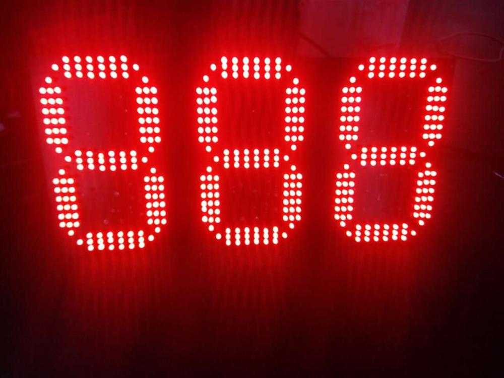新品公交车8字牌厂家为国内各大公交公司提供智能888遥控显示