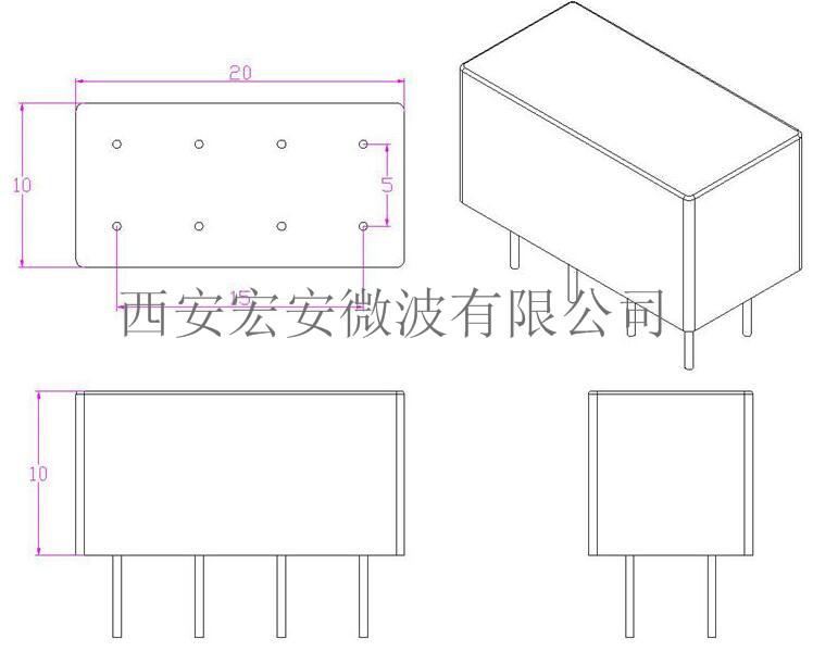 BPF27-32M LC滤波器-外形及安装尺寸.jpg