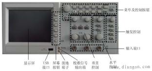 示波器的使用图解方法