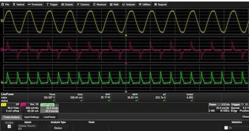 怎么用示波器测功率