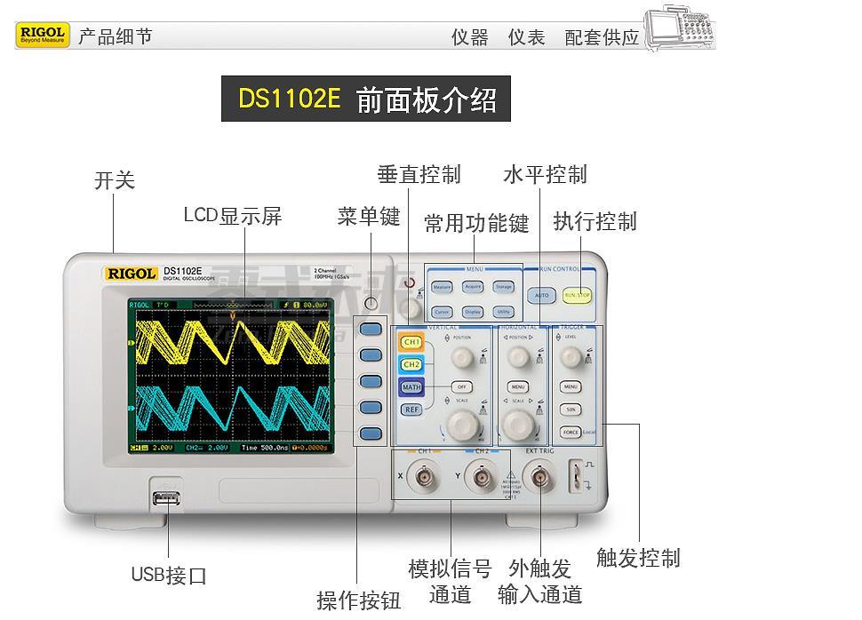 示波器触发耦合方式的选择方法介绍