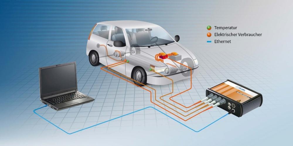 新能源汽车高压数据采集解决方案