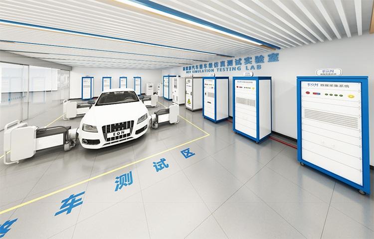 新能源汽车整车级仿真测试实验室
