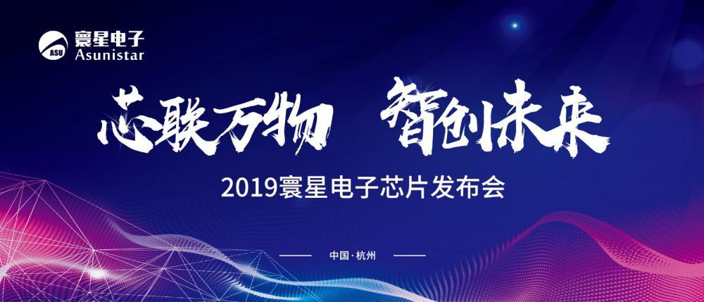 用芯连接世界,2019寰星电子芯片发布会在杭成功举办!