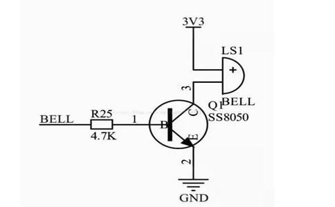 有源蜂鸣器电路图驱动与蜂鸣器代码编程-臻美智能电子