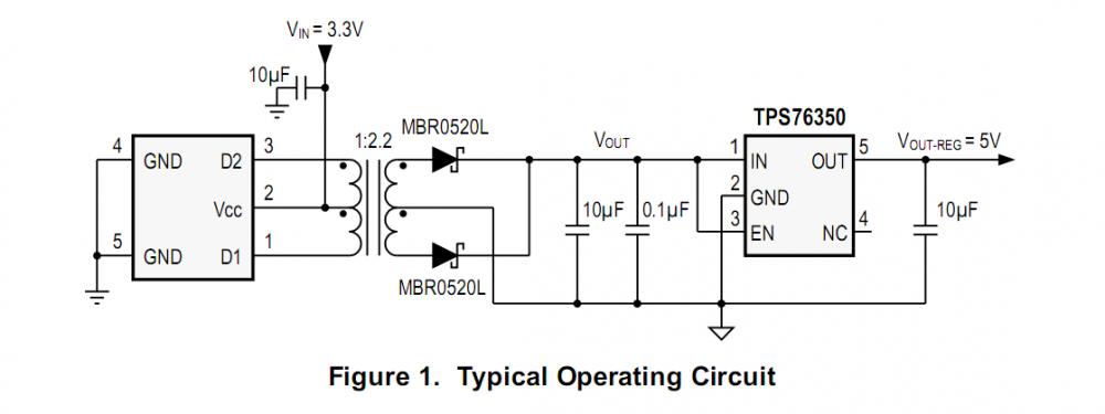 单片振荡器/功率驱动器ZCC6501 替代SN6501