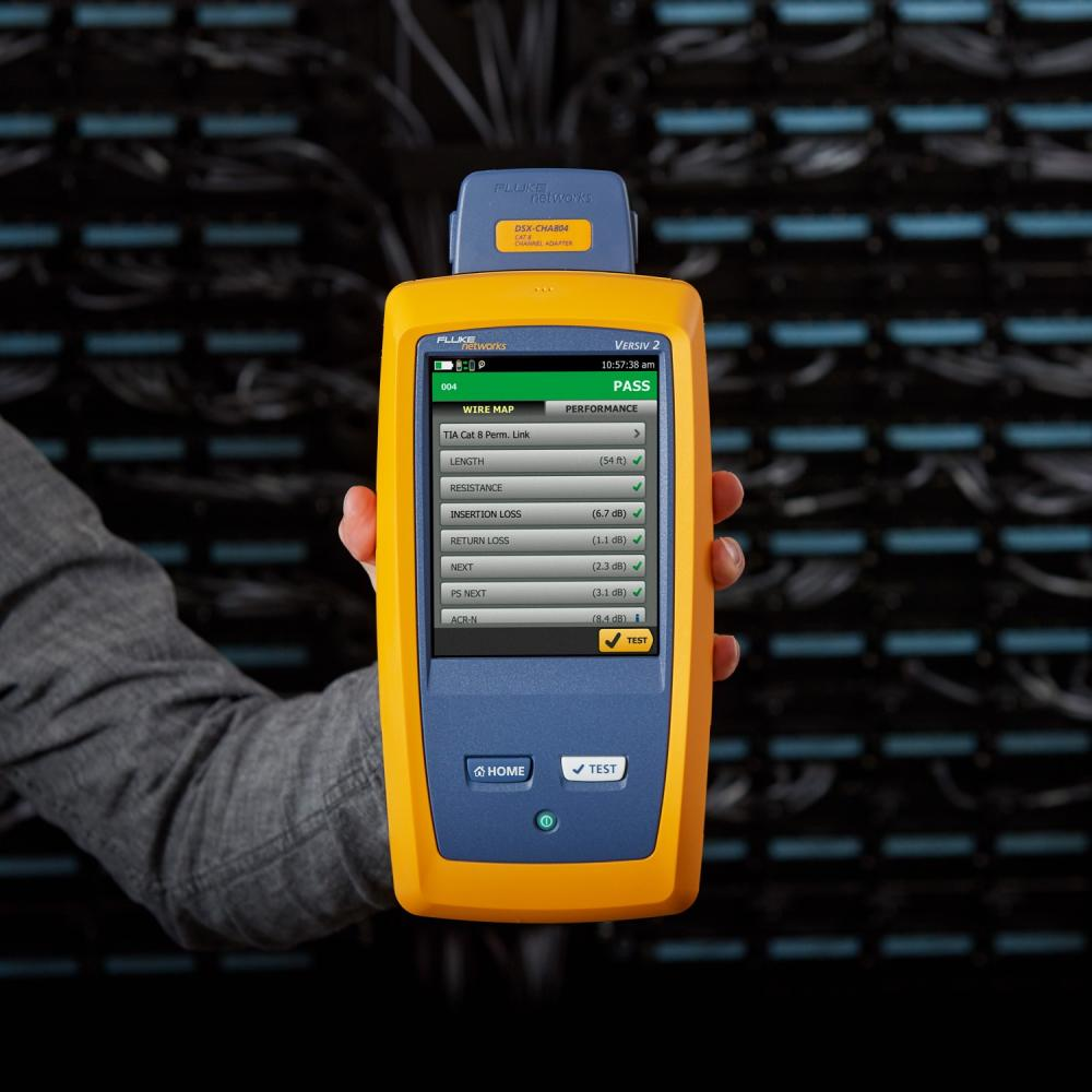 福禄克DSX-8000 CH铜缆认证测试仪