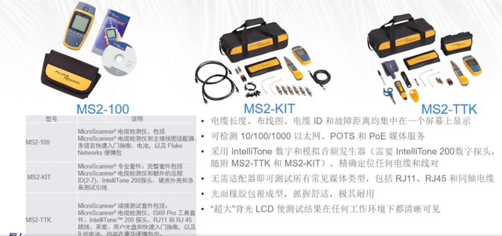 满足不同测试需求的福禄克网线测试仪产品介绍