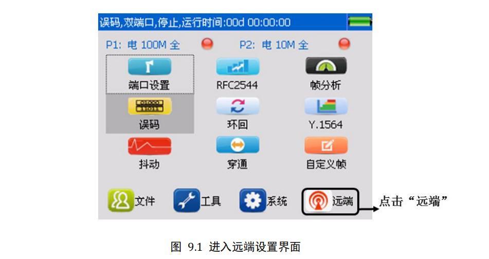 明辰智航M-P-1C 千兆以太网测试仪双端测试案例操作方式