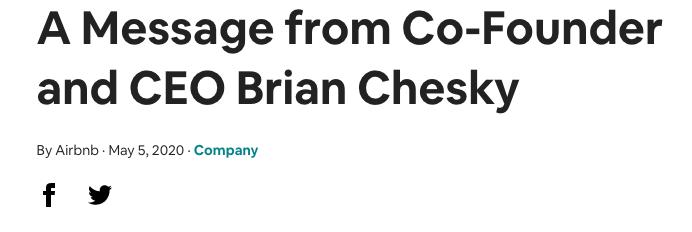 Airbnb危机大裁员:遣散近两千员工,补给4个月薪水,股****照发
