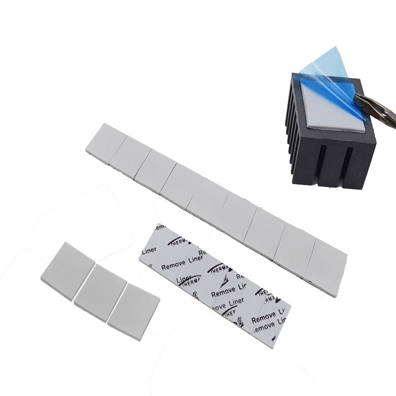 无硅导热片帮助各种电子产品及PCB板解决导热散热问题