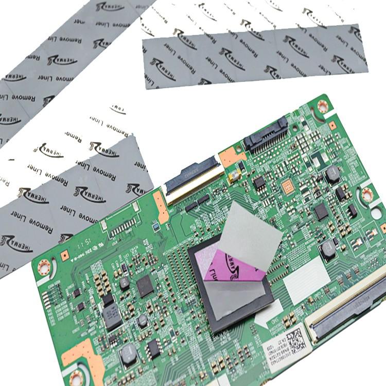 导热相变化材料如何贴合在散热器上,请看东莞兆科怎么做。