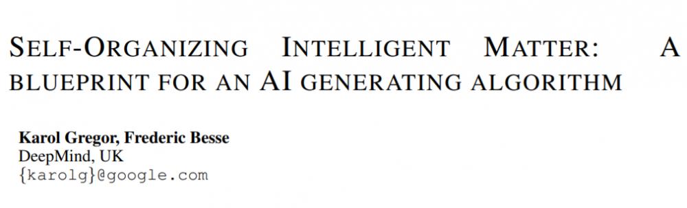 新方向!DeepMind提出人工生命框架,促进智能生物体的出现