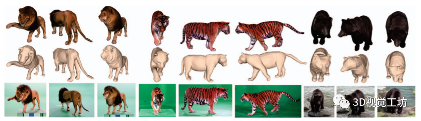 RGB图像重建非刚性物体三维形状(CVPR)