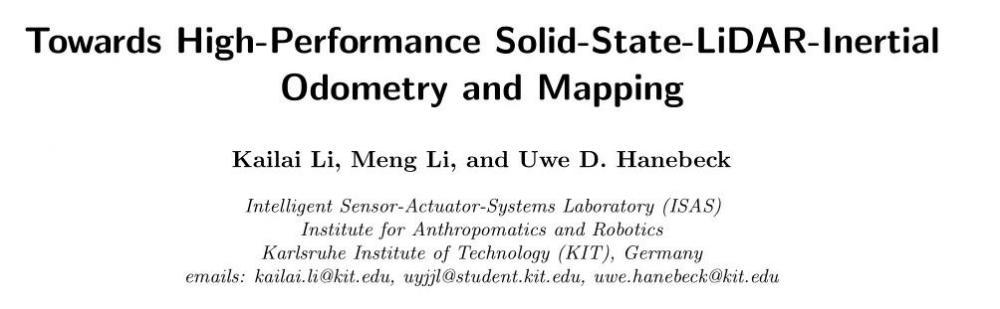 LiLi-OM: 走向高性能固态激光雷达惯性里程计和建图系统